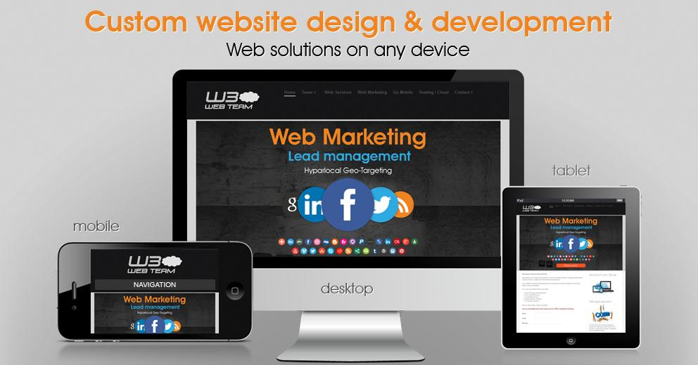 Custom Website Soluton serving Greater Houston Texas and San Diego California areas.